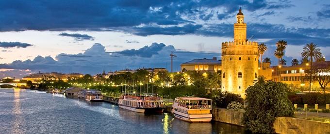 Río Guadalquivir y Torre del Oro
